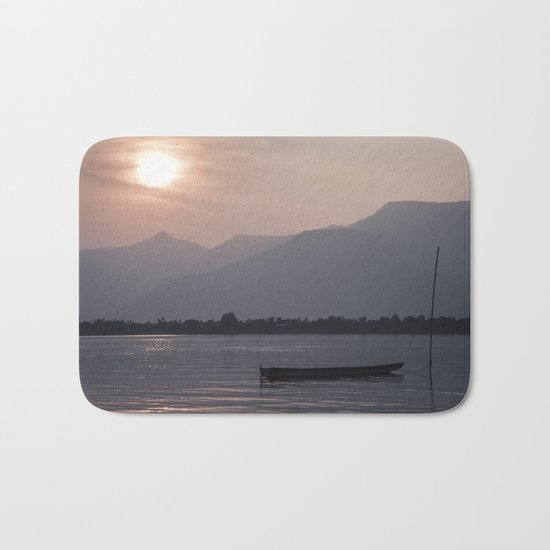Sunset at Mekong Bath Mat