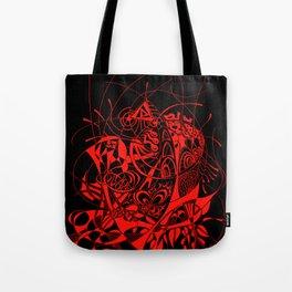 Filanes-45 deep red Tote Bag