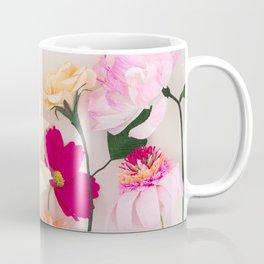 Crepe paper flowers Coffee Mug
