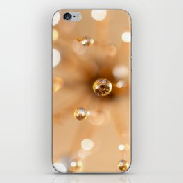 Queen Anne's Lace in Gold iPhone Skin