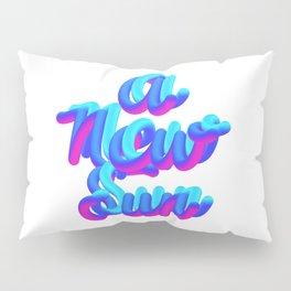 A new sun typography 3d M83 Pillow Sham