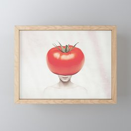 Tomatoes Framed Mini Art Print