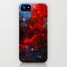 Dreamers In An Endless Universe, Galaxy Background, Universe Large Print, Space Wall Art Decor iPhone Case