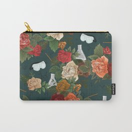 Chemistry Floral Carry-All Pouch