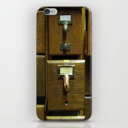 Used Card Catalog (Full of Toys) iPhone Skin