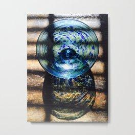 Glass Bowl Metal Print