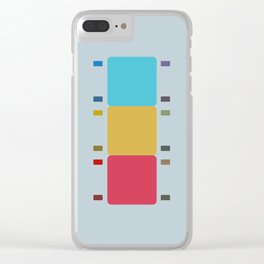 8 E=Chipup5 Clear iPhone Case