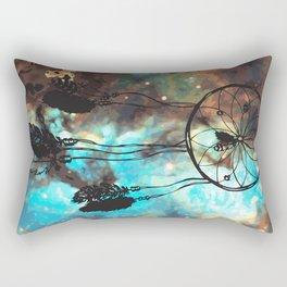Dreamcatcher (blue) Rectangular Pillow