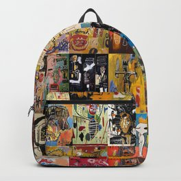 Basquiat Montage Backpack