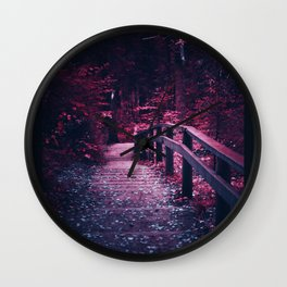Maybe You're Lost Coz You're Not Looking Wall Clock