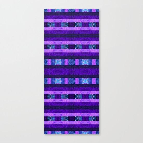 Quilt Top - Deep Purple Canvas Print