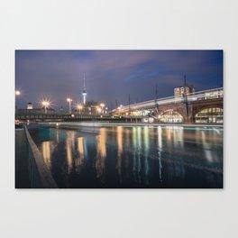 Berlin Jannowitzbrücke Canvas Print