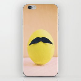 Eggmen Series: Mr. Green iPhone Skin