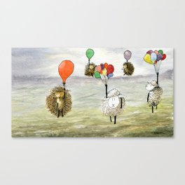 We Haven't Thought This Through Canvas Print