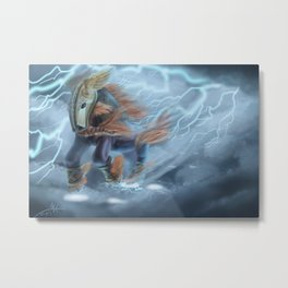 Thunder Horse Metal Print