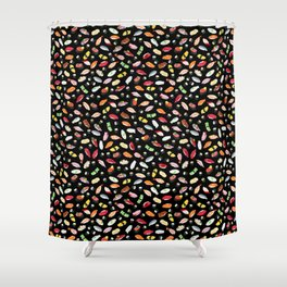 Sushi - Kuro Shower Curtain
