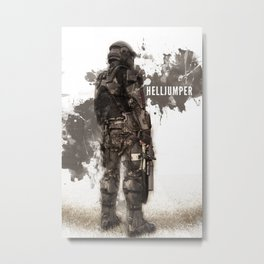 Helljumper Metal Print