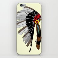 native iPhone & iPod Skins featuring Native  by weliketrees