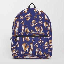 Funny Weasel ( Mustela nivalis ) Backpack