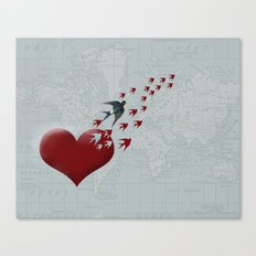 Leaving Home Canvas Print