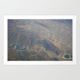 GEOgraphy X Art Print