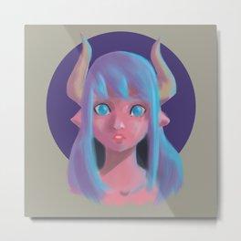 Taurus Candy Color Metal Print