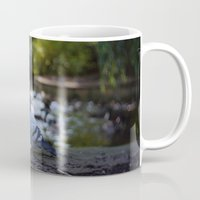 pigeon Mugs featuring Pigeon by Elliott Kemp Photography