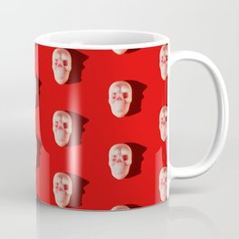Pattern of skull candies with an interesting silhouette for a shadow Coffee Mug