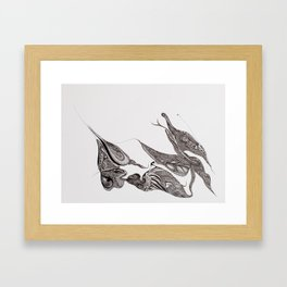 pangolin Framed Art Print