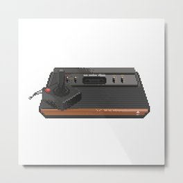 Atari 2600 Metal Print