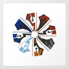 Color Wheel No.001 Art Print