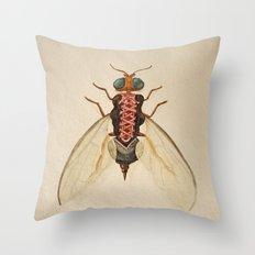 urban Bug #2 Throw Pillow