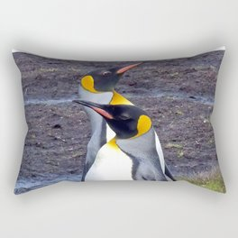 King Penguins Rectangular Pillow