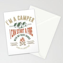 I'm a Camper Stationery Cards