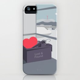 Left my Heart in San Francisco iPhone Case
