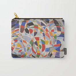 Pretty Mosaic Carry-All Pouch