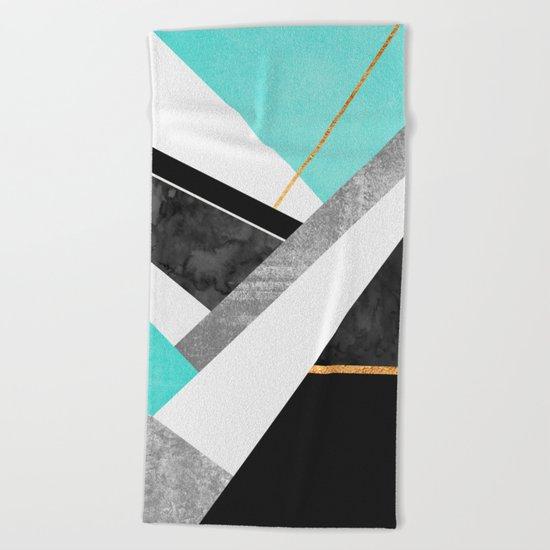 Lines & Layers 1.2 Beach Towel