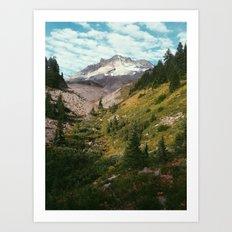 Mt Hood Art Print