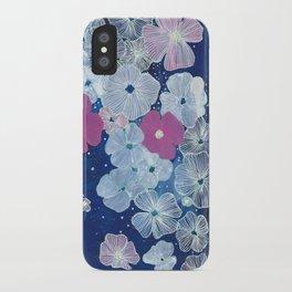Celestial Blooms iPhone Case