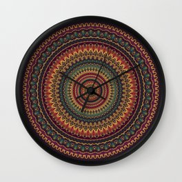 Mandala 488 Wall Clock