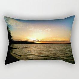 Sun on Big Platte Rectangular Pillow
