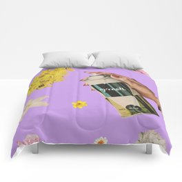 Spring Cleaning Comforters