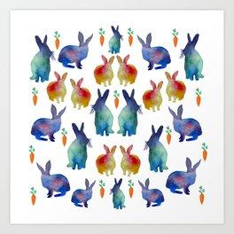 Rabbit's Heaven Art Print
