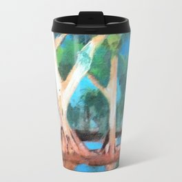 Riverbank Trees Travel Mug