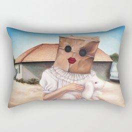 Sunday Dress Rectangular Pillow