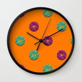 Jazz + Mint Wall Clock