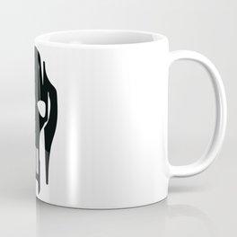 General Grievous Face Silhouette Coffee Mug