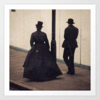 victorian Art Prints featuring Victorian by Lori Ratia