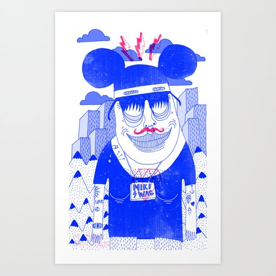 Michael Mouse Art Print