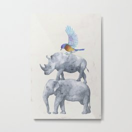 African Wildlife Metal Print